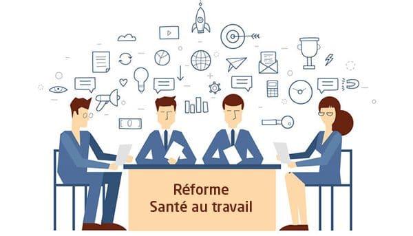 visioconférence réforme de la santé au travail