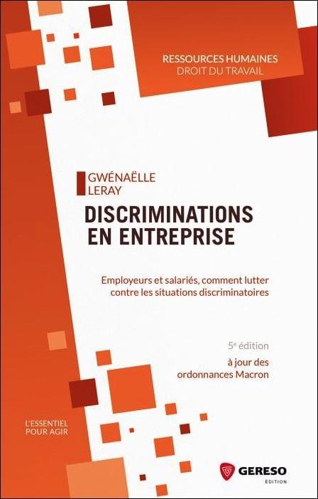livre discrimination en entreprise
