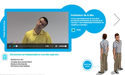 vidéo interactive travail sur écran - étape 4