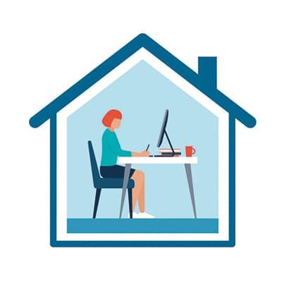 e-learning télétravail et travail sur écran